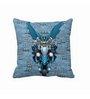 Me Sleep Blue Microfibre 16 x 16 Inch Batman Cushion Cover