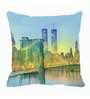 Me Sleep Blue Microfibre 16 x 16 Inch Cushion Cover