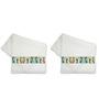 Me Sleep Whites Cotton 14 X 24 Hand Towels - Set of 2