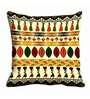 Me Sleep Multicolor Satin 16 x 16 Inch Cushion Cover