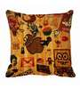 Me Sleep Yellow Microfibre 16 x 16 Inch Cushion Cover