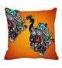 Me Sleep Yellow Satin 16 x 16 Inch Cushion Cover