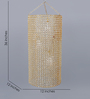 Medellin Ceiling Lamp in Gold by CasaCraft