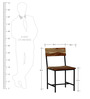 Questa Dining Chair in Natural Sheesham Finish By Bohemiana