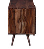 Colville Solid Wood Entertainment Unit in Dual Tone Finish by Woodsworth