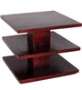 Lacanoia Solid Wood Coffee Table in Passion Mahogany Finish by Woodsworth