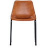 Medina Natural Color Leather Accent Chair by Bohemiana