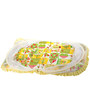 Mee Mee Baby Mattress Set with Mosquito Net & Pillow in Yellow