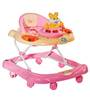 Safety Baby Walker with Adjustable Height in Pink Colour by Mee Mee