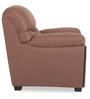 Memphis Monarch One Seater Sofa in Dark Brown Colour by Urban Living