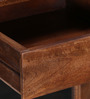 Carlisle Glass Door Sideboard in Provincial Teak Finish by Amberville