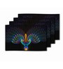 Me Sleep Multicolour PVC Abstract Table Mat