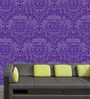 Me Sleep Purple PVC Beautiful Wallpaper
