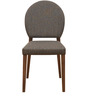 Messo Dining Chair in Dark Walnut Colour by @home