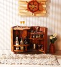 Colville Bar Cabinet in Provincial Teak Finish by Woodsworth