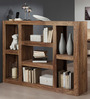Madison Book Shelf cum Display Unit in Natural Finish by Woodsworth