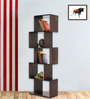 Fairmont Book Shelf Unit in Provincial Teak Finish by Woodsworth
