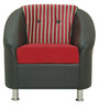 Mexico One Seater in Red Colour by Furnitech