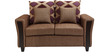 Mist Fabric Two Seater Sofa in Beige Colour by HomeTown