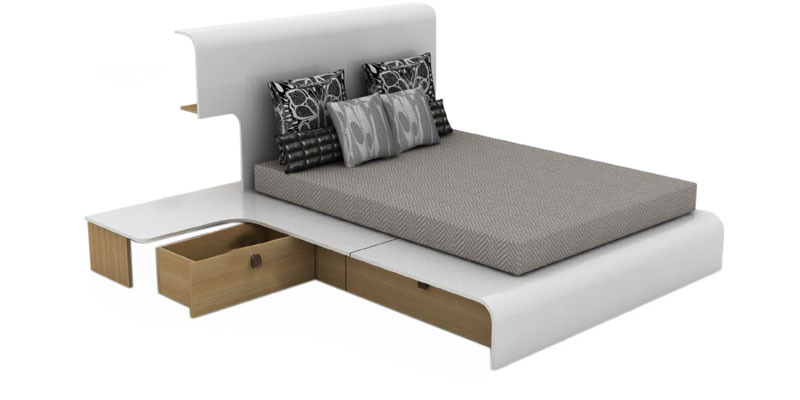 Mist Queen Bedroom Set Bed Side Table Mobile Unit by  : mist queen bedroom set bed side table mobile unit by godrej interio mist queen bedroom set be objmal from www.pepperfry.com size 800 x 400 jpeg 38kB