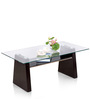 Milan Coffee Table in Chocolate Colour by Royal Oak