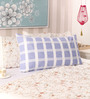 Milano Home Blue Cotton 19 x 30 Pillow Cover