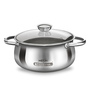 Milton Monarch Steel 1500 ML Casserole With Lid
