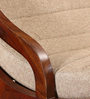 Milton Two Seater Rocking Chair in Honey Oak Finish by Woodsworth