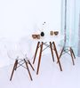Mineko Accent DSW Eames Replica Chair (Set of 2) in Clear Colour by Mintwud
