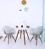Mineko Accent DSW Eames Replica Chair (Set of 2) in Smoke Colour by Mintwud