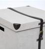 Genuine Leather - Mini Organiser Trunk (Set of Three) - Ivory By Studio Ochre