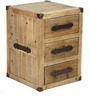 Mini Urban Chic Leather Handle Chest Of Drawer by Asian Arts