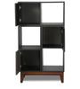 Minimax Book Shelf in Black Finish by Godrej Interio