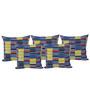Misona World Cotton Cushion Cover in Multicolour