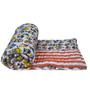 Misona World Cotton Quilt in Multicolour