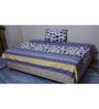 Misona World Cotton Single Bedsheet in Multicolour