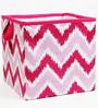 MixNMatch Pink Zigzag Storage Box Small