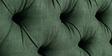 Modern Button Tufted Upholstered Platform Bed in Dark Green Color by Afydecor