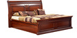Morrison Red Cherry King Bed with Hydraulic Storage by HomeTown