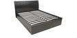 Mozart Hydraulic Storage Queen Bed in Wenge Colour by HomeTown