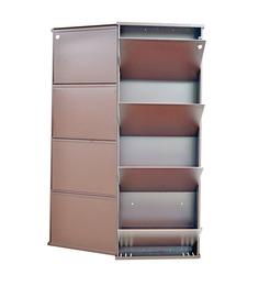 Vladiva Space Saving Four Level Shoe Rack