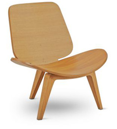 Mood Chair in Light Brown Colour by FurnitureTech