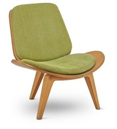 Mood Chair with Light Green Cushions by FurnitureTech