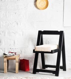 Madison Folding Chair in Espresso Walnut Finish by Woodsworth