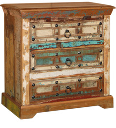 Azealia Chest of Drawer in Distress Finish by Bohemiana