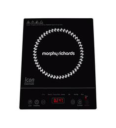 Morphy Richards Icon Essential Touch Panel 1600W Induction Cooktop at pepperfry