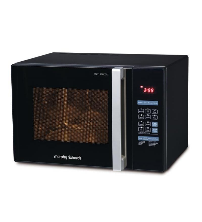 Morphy Richards Appliances: Morphy Richards 30 MCGR Microwave (Black) By Morphy Richards Online