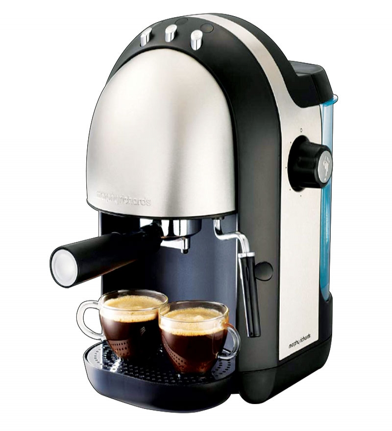 Morphy Richards Meno Coffee Maker : Morphy Richards Meno Expresso Brushed Coffee Maker by Morphy Richards Online - Coffee Makers ...