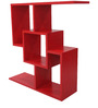 Modern Display Unit with Smooth Laminate Finish by Afydecor