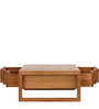 Modern Coffee Table with Six Storage Drawers by AfyDecor